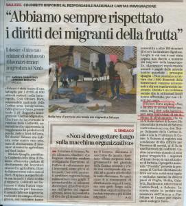 """Coldiretti: """"Abbiamo sempre rispettato i diritti dei migranti della frutta"""""""